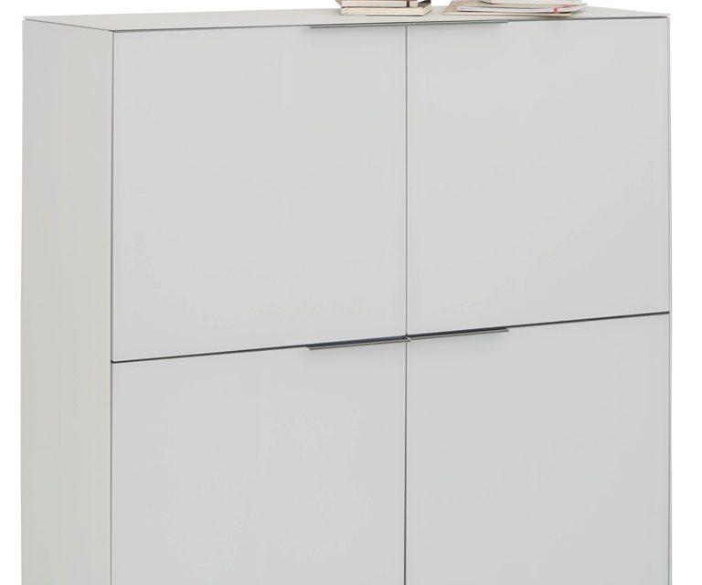 Archiefkast Yas 114 cm hoog – Wit | Bermeo