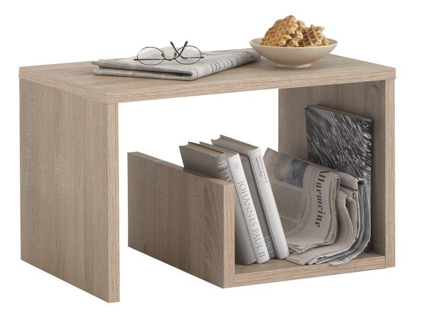 Bijzettafel / Lectuurhouder Mike – Eiken | FD Furniture