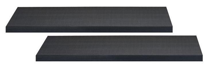 Boekenplanken set Elypse 100 cm breed – Bruin eiken | Ameubelment