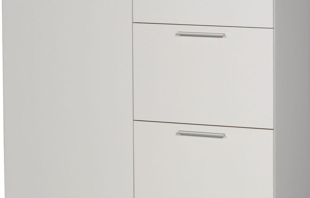 Commode Apex 96 cm breed – Wit met eiken   Germania