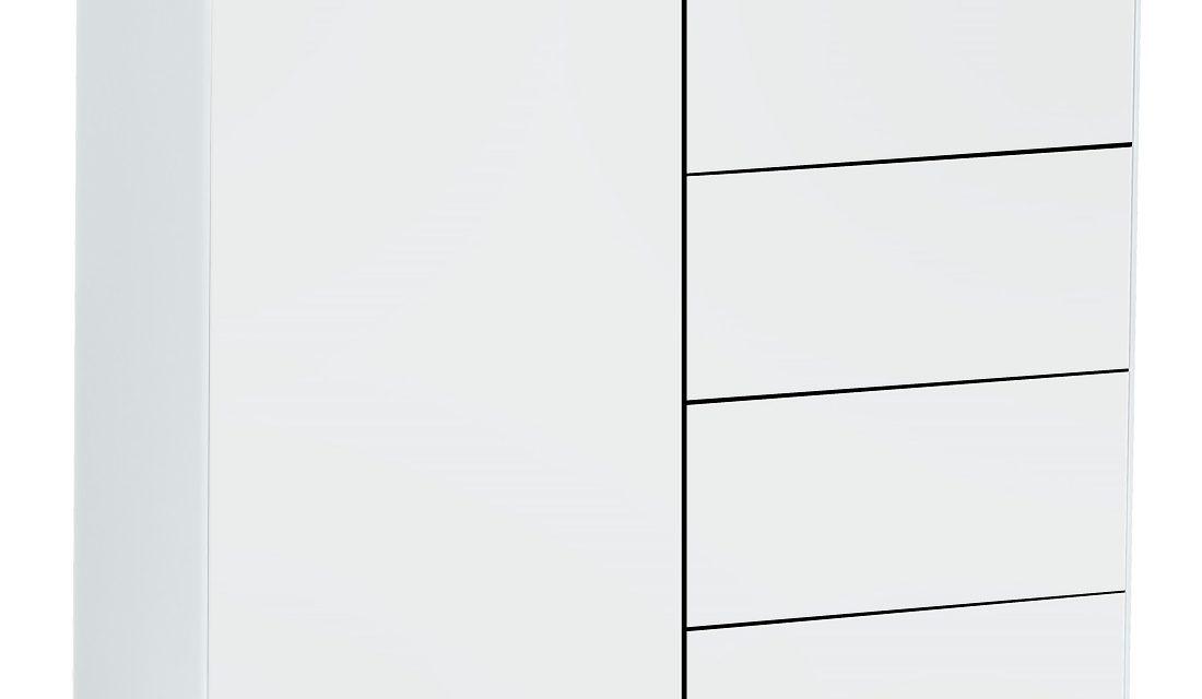 Commode Best 80 cm hoog – Wit | Bermeo