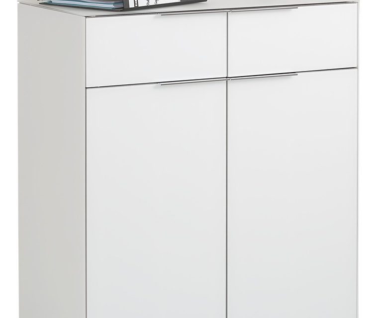 Commode Yas 92 cm hoog – Wit | Bermeo