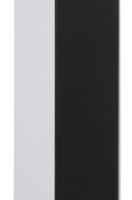 Fristi Hangkast 90 cm hoog – Wit met zwart | Bermeo