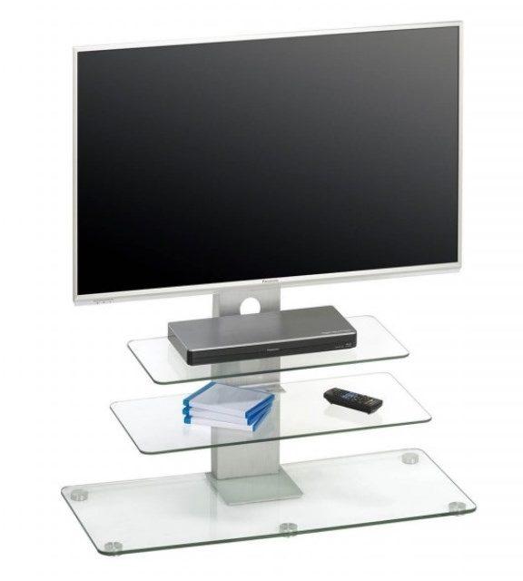 Glazen Tv-meubel Ajax – Helder Glas | Bermeo