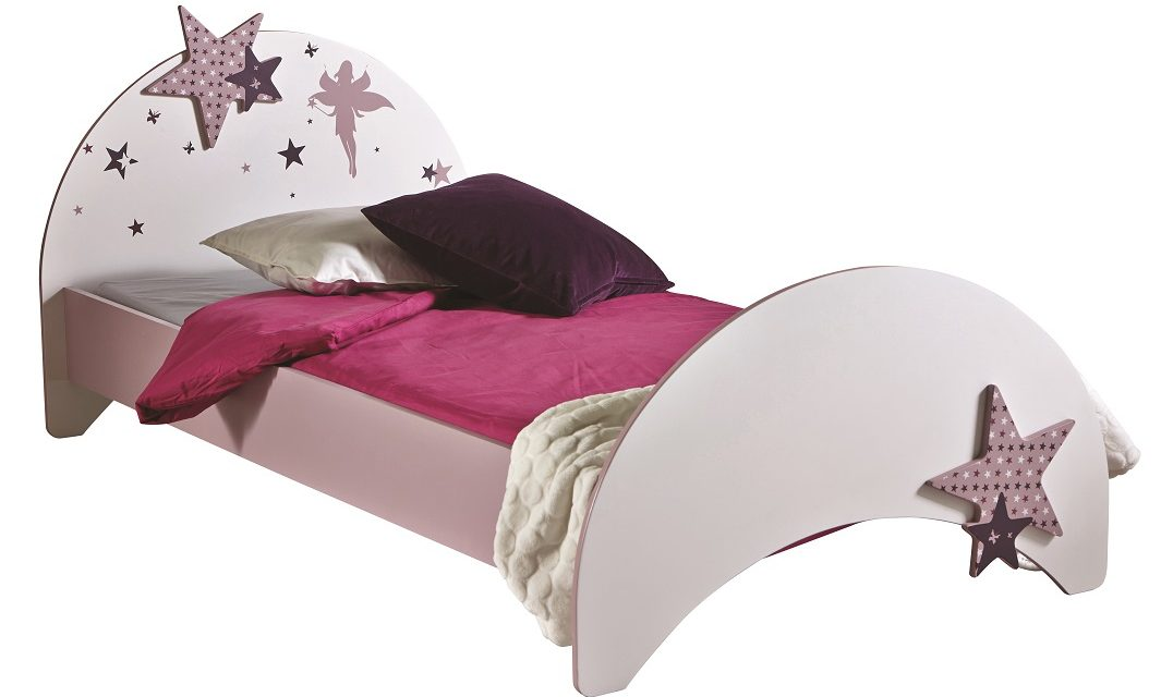 Kinderbed Fee 193 cm breed – Roze | Young Furniture
