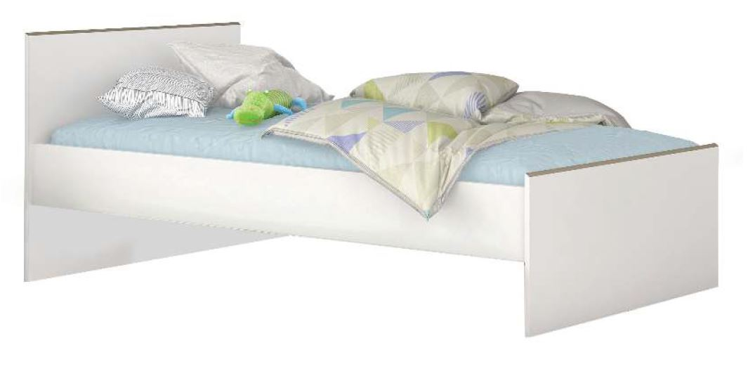 Kinderbed Kobe 203 cm breed – Wit | Young Furniture