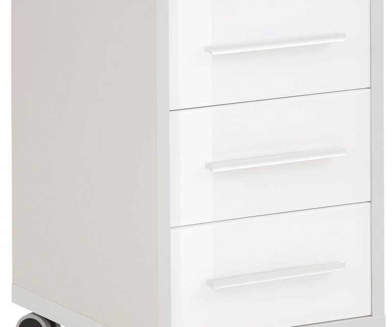 Ladeblok Banco 68 cm hoog – Plantina grijs met wit | Bermeo