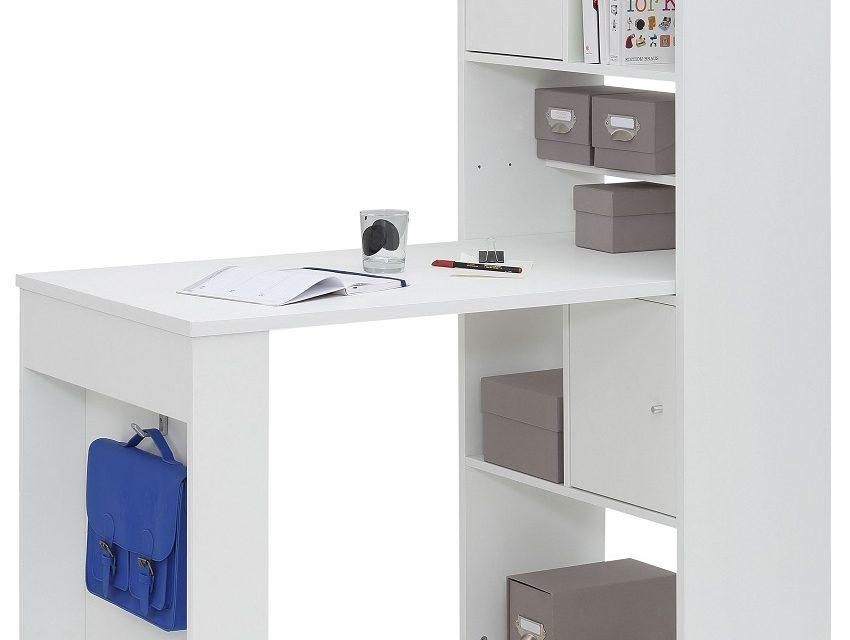 Mini Office bureau Halter – Wit | Bermeo