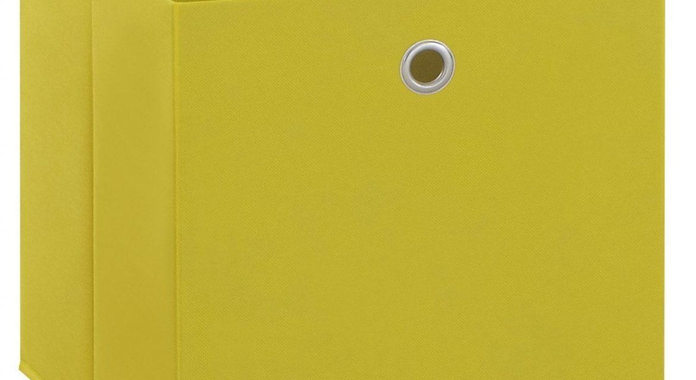 Opbergbox Mega – Geel |