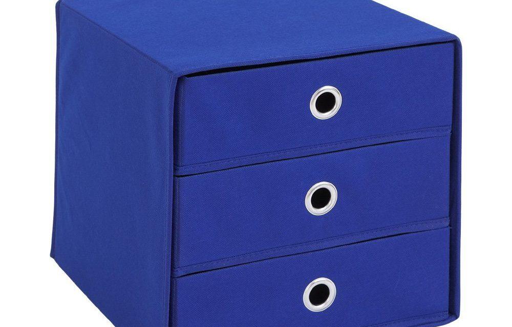 Opbergbox Mega Trio – Blauw |