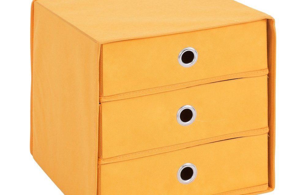 Opbergbox Mega Trio – Oranje |