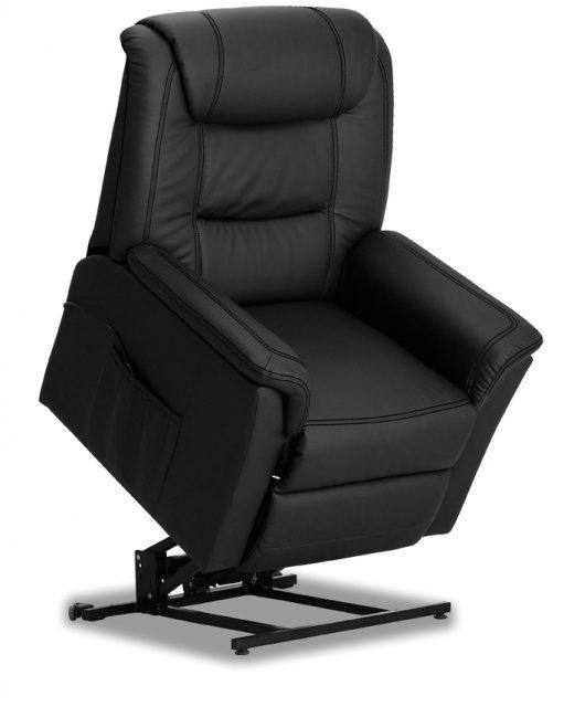 Relaxstoel electrisch Colorado zwart | Rousseau