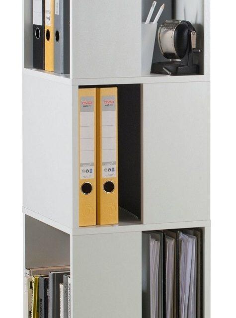 Rotator Ordnerkast 108 cm hoog – Wit | FD Furniture