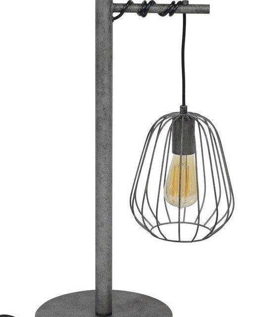 Tafellamp Lampoon 66 cm hoog – Oud zilver | Zaloni