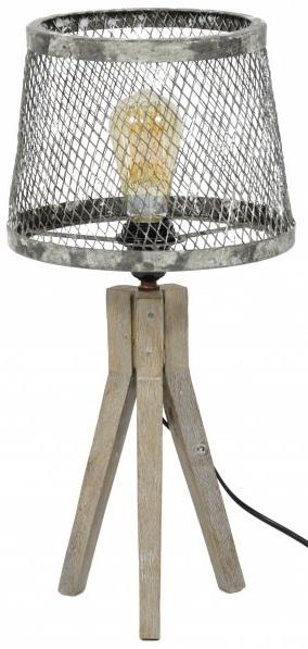 Tafellamp Til van 53 cm hoog – Verweerd koper | Zaloni