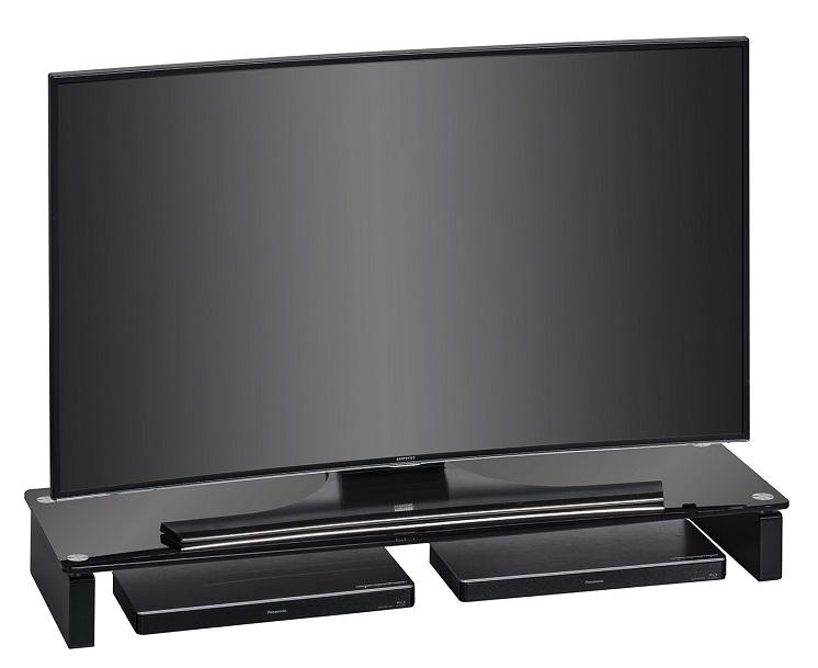 Tv-meubel Atlas 110 cm breed – Zwart | Bermeo