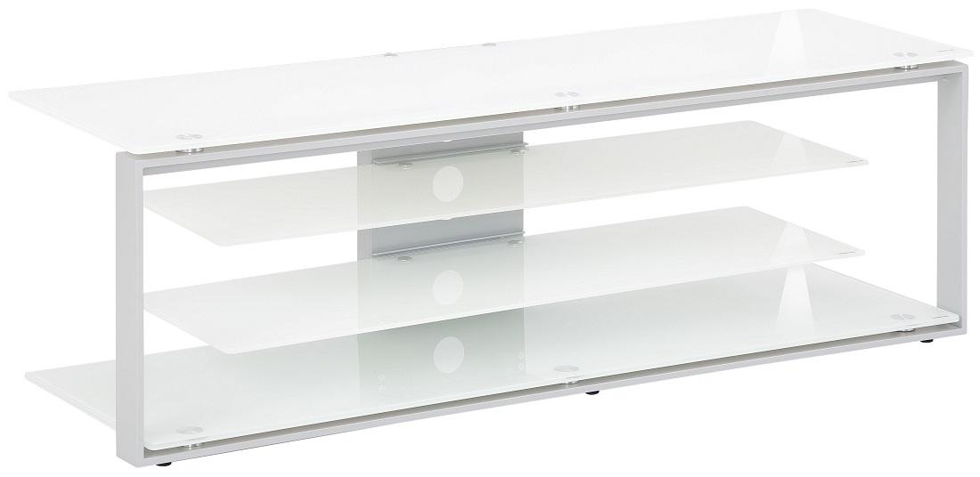 Tv-meubel Best 130 cm breed – Wit | Bermeo
