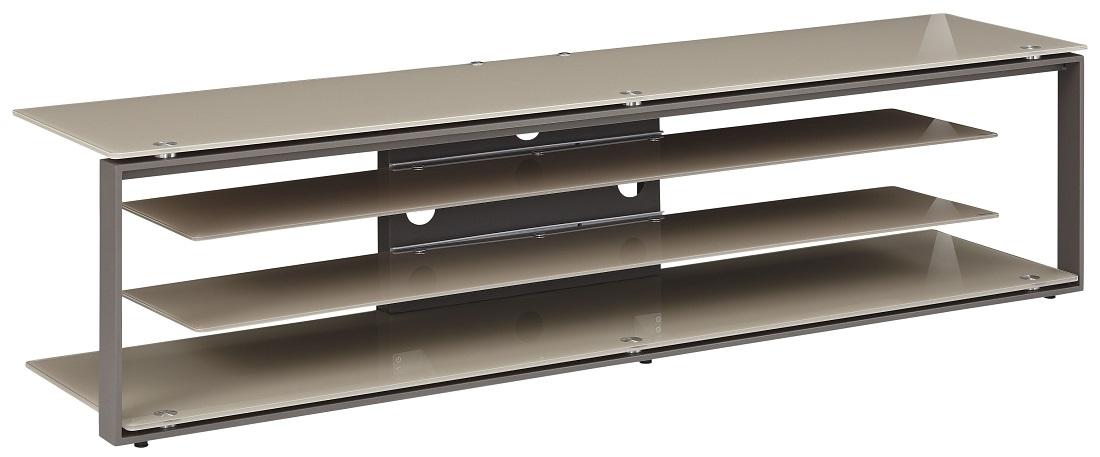 Tv-meubel Best 170 cm breed – Zand met antraciet | Bermeo