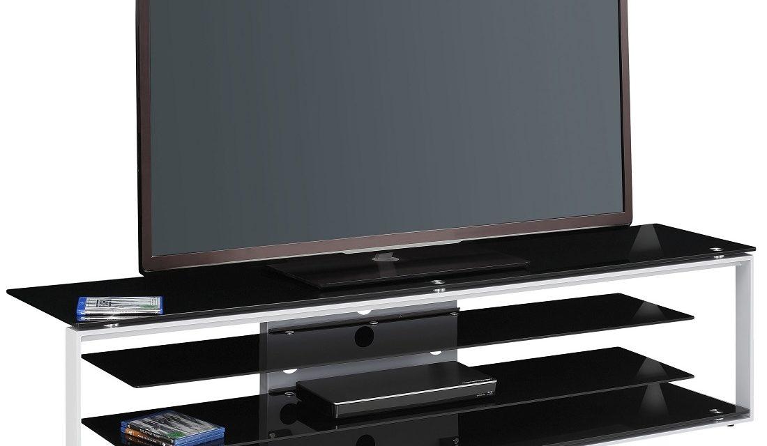 Tv-meubel Best 170 cm breed – Zwart | Bermeo