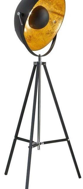 Vloerlamp Caty 170 cm hoog – Zwart   Zaloni