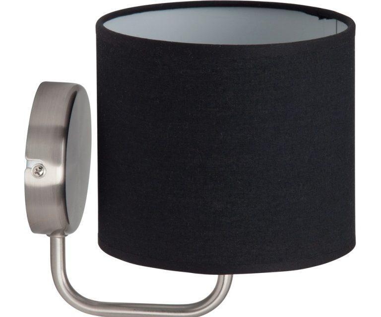 Wandlamp Ardanas – Zwart   Brilliant