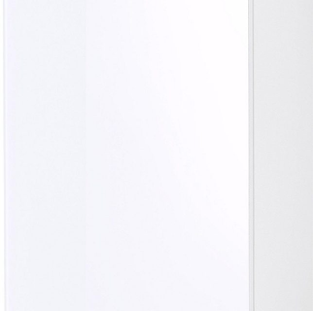Badkamer hangkast Pescara 69 cm hoog – Wit met navarra eiken | Alamania