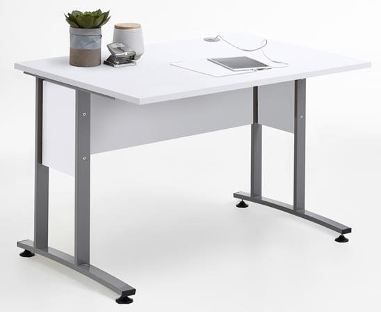 Computer bureau Calvia 120 cm breed – wit | FD Furniture