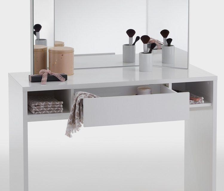 Kaptafel Schminki 100 cm breed met spiegel | FD Furniture