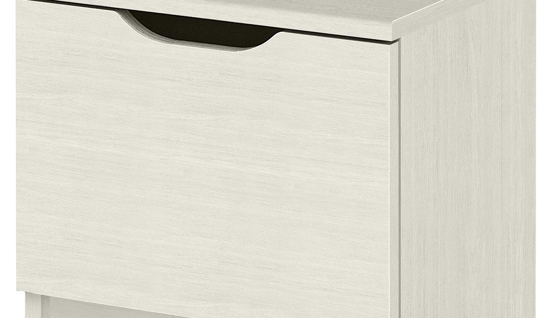 Nachtkastje Brooklyn 37 cm hoog in gekalkte kersenhout | Gamillo Furniture