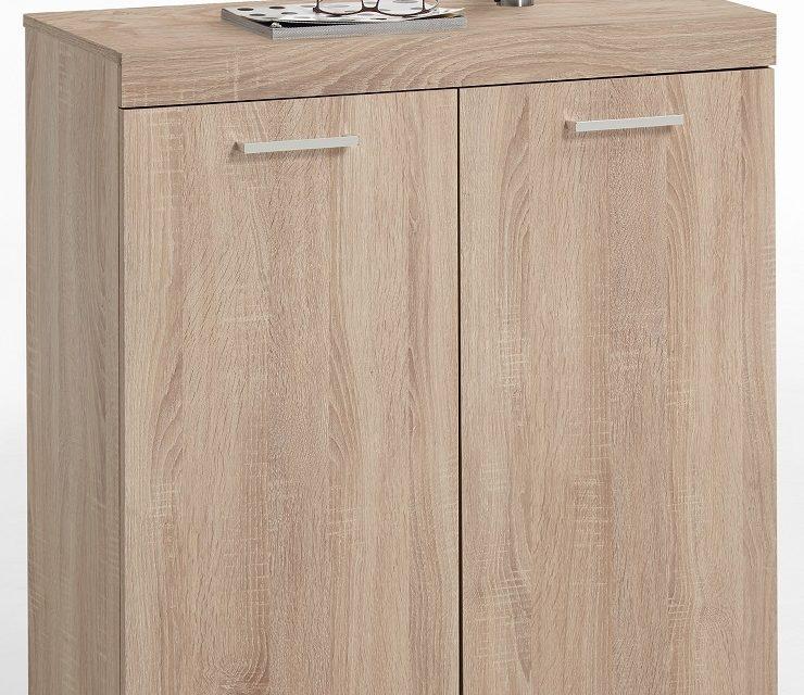 Opbergkast Bristol 1 van 90 cm hoog in eiken | FD Furniture