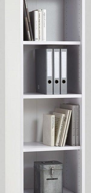 Open Boekenkast Calvia Large van 222 cm hoog – wit | FD Furniture