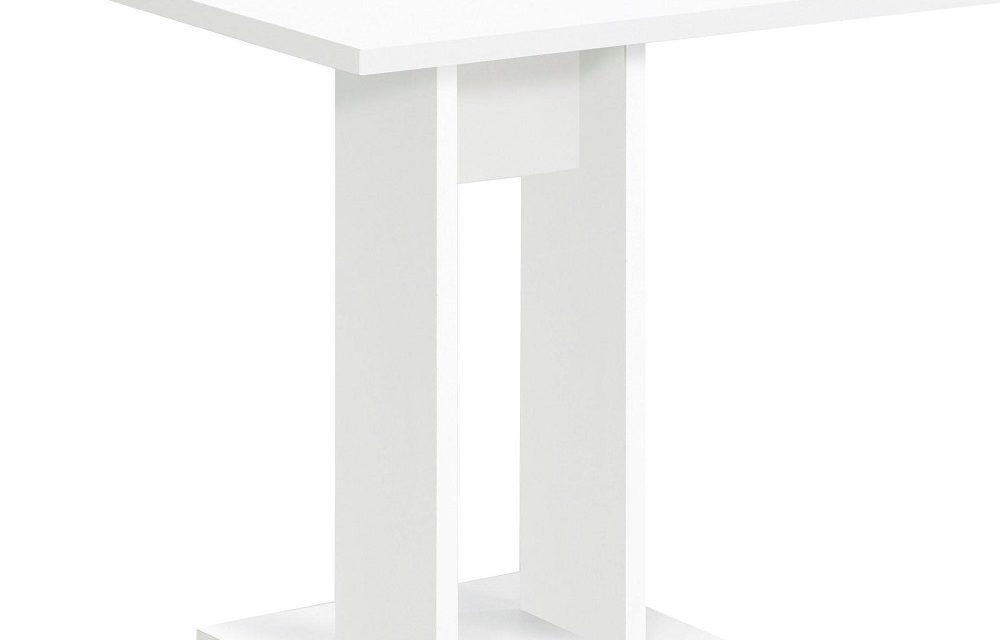 Vierkante eettafel Bandol 70x75x70 cm breed in wit | FD Furniture