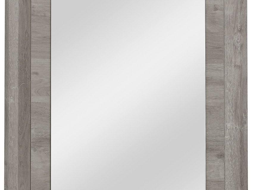 Wandspiegel Eden 92 cm hoog in grijs eiken | Bordini Furniture