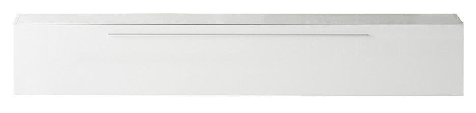 Zwevend Tv meubel Mexy 210 cm lang – Hoogglans wit | Pesaro Mobilia