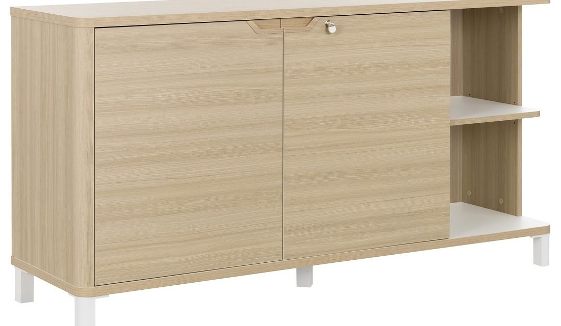 Archiefkast Absolu 160 cm breed in eiken   Gamillo Furniture