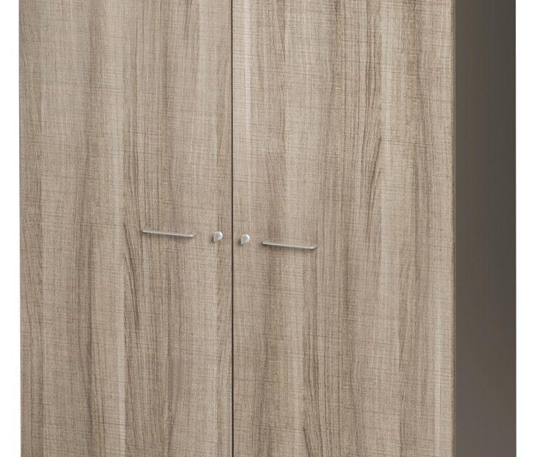 Archiefkast Jazz Medium van 183 cm hoog in grijs eiken met grijs | Gamillo Furniture