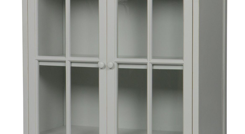 BePureHome Vitrinekast 'Fresco' kleur Mist   BePureHome