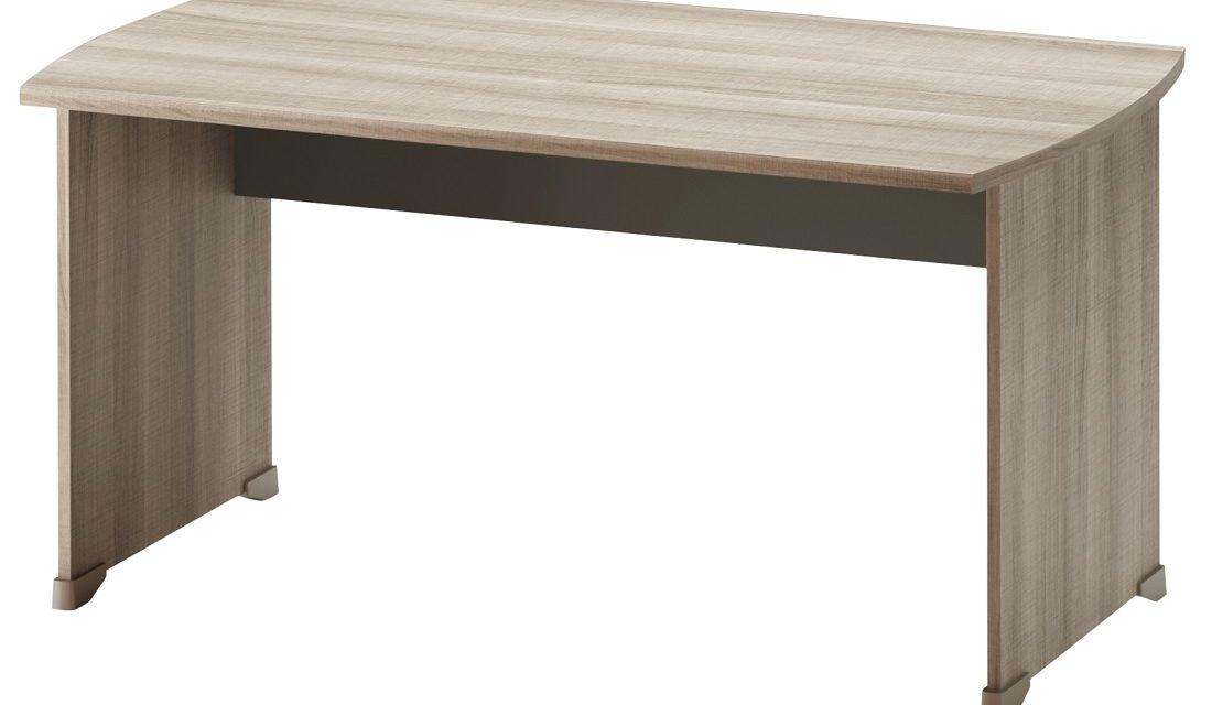 Bureau Jazz 140 cm breed in grijs eiken | Gamillo Furniture