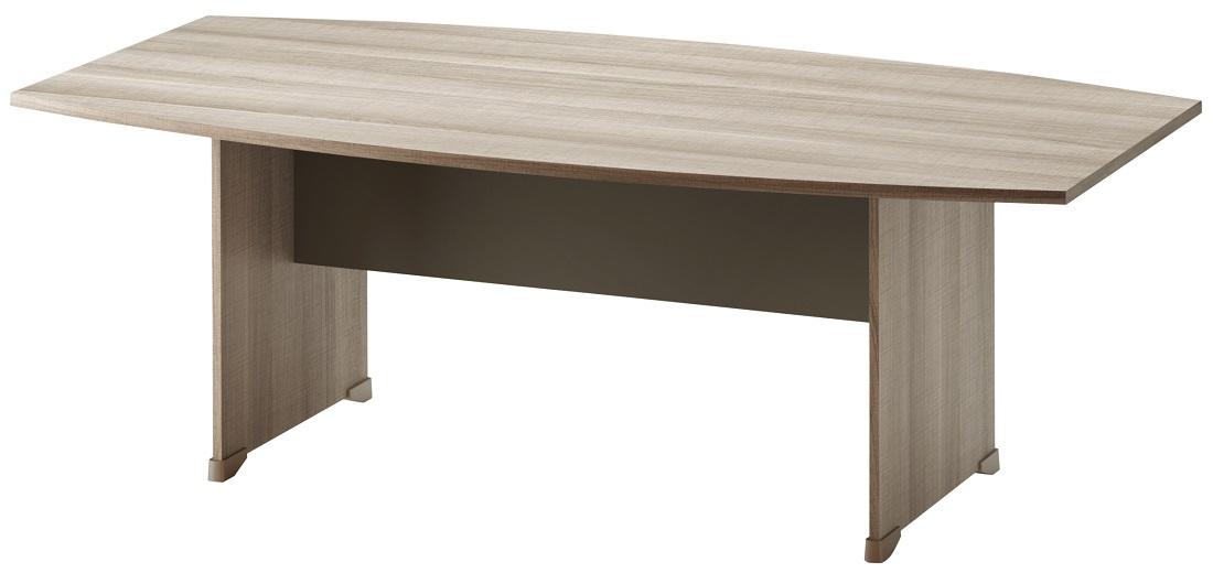 Bureau Jazz 204 cm breed in grijs eiken | Gamillo Furniture