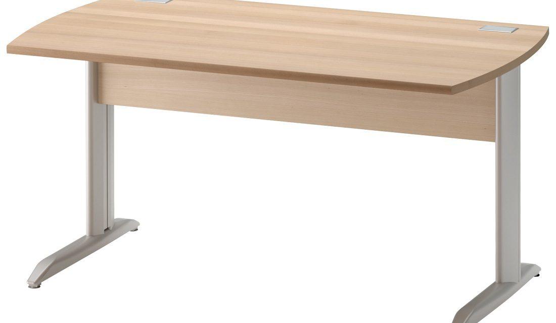 Bureau Jazz plus 120 cm breed in beuken   Gamillo Furniture