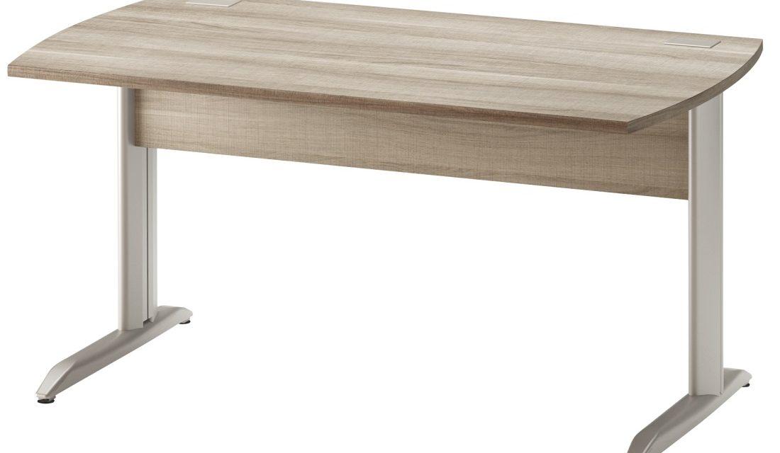 Bureau Jazz plus 160 cm breed in grijs eiken | Gamillo Furniture