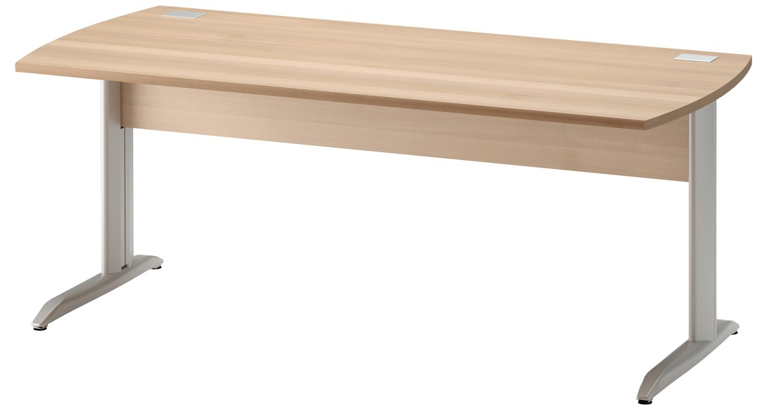 Bureau Jazz plus 180 cm breed in beuken   Gamillo Furniture