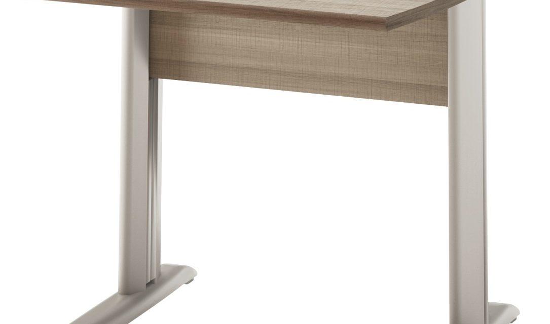 Bureau Jazz plus 80 cm breed in grijs eiken | Gamillo Furniture