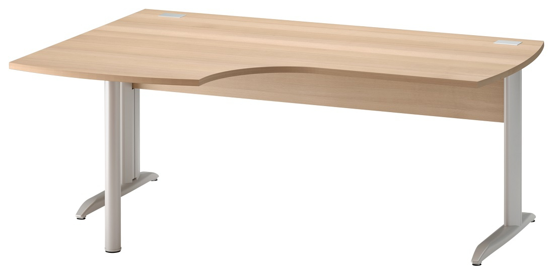 Bureau Jazz plus links 180 cm breed in beuken   Gamillo Furniture