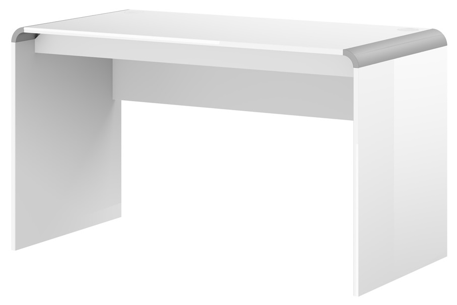 Bureau Murano 100 cm breed in hoogglans wit | Hubertus Meble