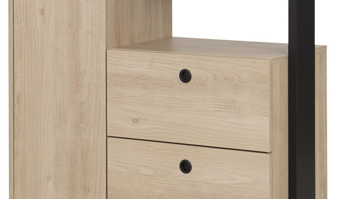 Commode Duplex 80 cm hoog in naturel kastanje | Gamillo Furniture