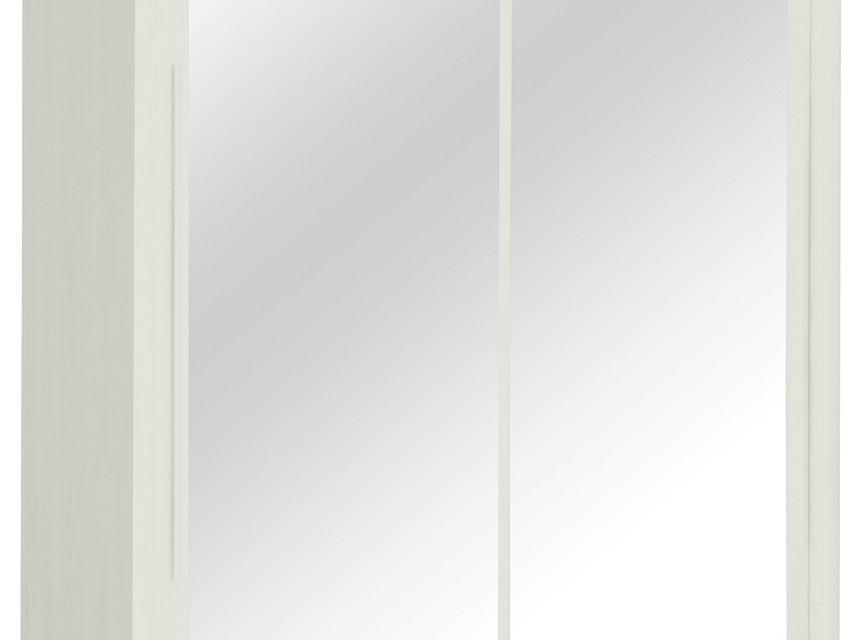 Kledingkast Cyrus 183 cm breed in gekalkte esdoorn | Gamillo Furniture