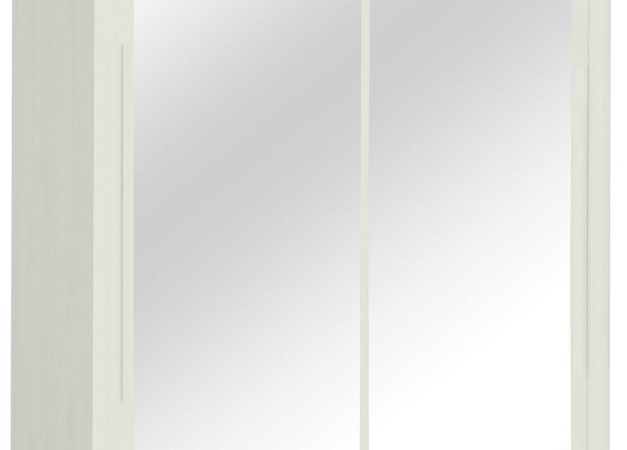 Kledingkast Cyrus 199 cm breed in gekalkte esdoorn | Gamillo Furniture