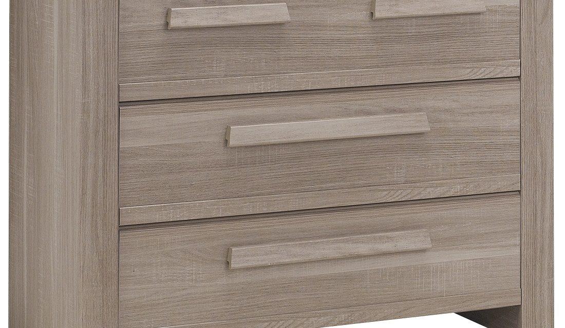 Ladekast Hangun 83 cm hoog in houtskool eiken | Gamillo Furniture