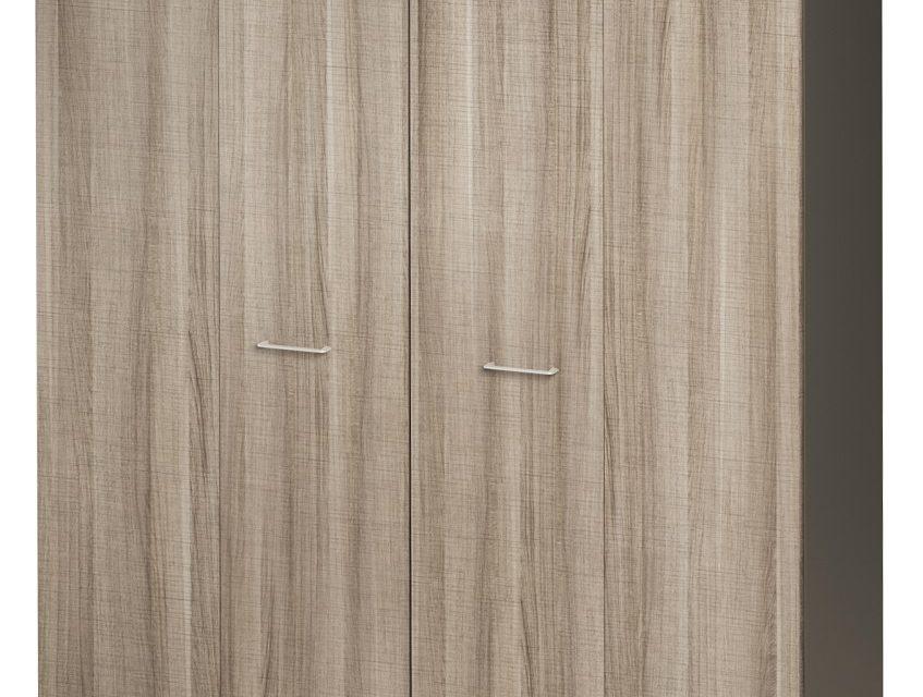 Opbergkast Jazz 211 cm hoog in grijs eiken met grijs | Gamillo Furniture